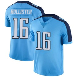 Limited Cody Hollister Youth Tennessee Titans Light Blue Color Rush Jersey - Nike
